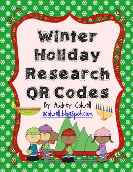 Winter Holiday QR Codes
