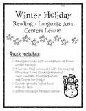 Winter Holiday Reading / Writing Centers with Story