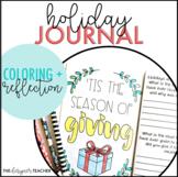Holiday Writing Activity | Holiday Journal | Holiday Reflection Journal