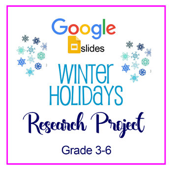 Winter Holiday Research