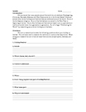 Winter Holiday Research Project Task Sheet