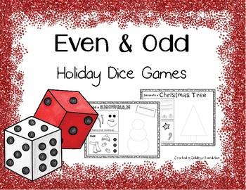 Roll a Snowman & Roll a Christmas Tree - Even & Odd