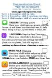 Winter Holiday Speech-Language Activities at Home