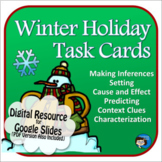 Winter Holiday Task Cards Digital Resource - Distance Learning