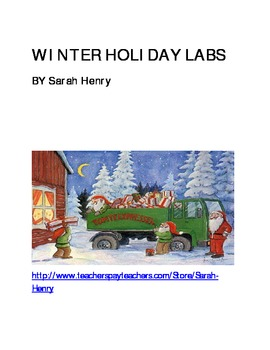 Winter Holiday Themed Labs