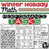 Christmas Activities Winter Holiday Themed Math Printables