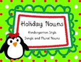Winter Holiday Themed Noun Activity