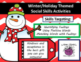 Winter/Holiday Themed Social Skills Activities Words, Feel