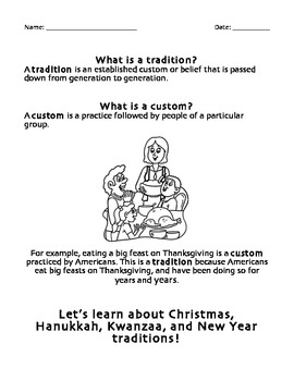 Winter Holiday Traditions
