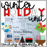 Winter Holiday Unit {for Autism and Special Education}