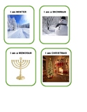 """Winter & Holiday """"WHAT AM I?"""" - use with """"headbanz"""""""