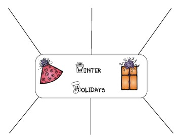 Winter Holiday Webbing