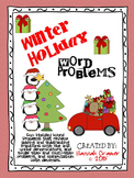Winter Holiday Word Problems