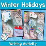 Winter Holidays Writing Activity