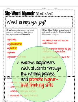 Christmas Writing Activity: Joyful Memoirs!