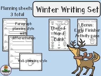 Winter/Holiday Writing Set: Plan & Publish