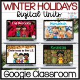 Winter Holidays DIGITAL Bundle: Christmas, Kwanzaa, Hanukk