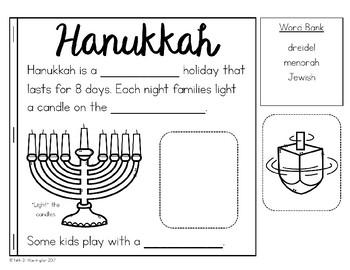 Winter Holidays Activity Book