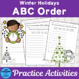 Winter Holidays ABC Order