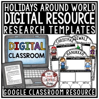 Digital Winter Holidays Around The World Research for Google Slides Templates