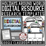 Digital Winter Holidays Around The World Research for Goog