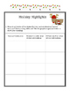Winter Christmas Packet - NO PREP Holiday Work Early Finis