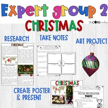 Winter Holidays Around the World Mini-Unit: Integrated ELA, SS, Art Pack (4-6)