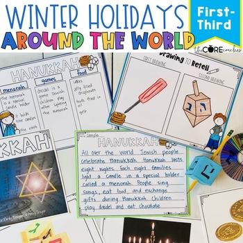 Holidays Around the World Unit- SS, Reading, Writing, Art Integration (1-3)