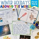 Winter Holidays Around the World Mini-Unit: Integrated ELA, SS, Art Pack (1-3)