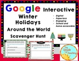 Winter Holidays Around the World: A Digital Scavenger Hunt