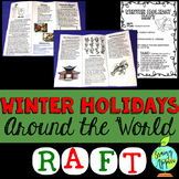 Winter Holidays Around the World Research RAFT Writing Task
