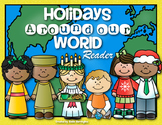 {Winter Holidays Around Our World} Reader for First Grade and Kindergarten