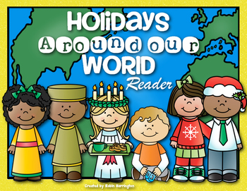 {Winter Holidays Around Our World} Reader for First Grade