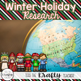 Winter Holidays Around the World Research Project
