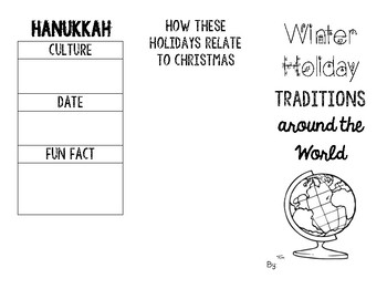 Winter Holidays Brochure