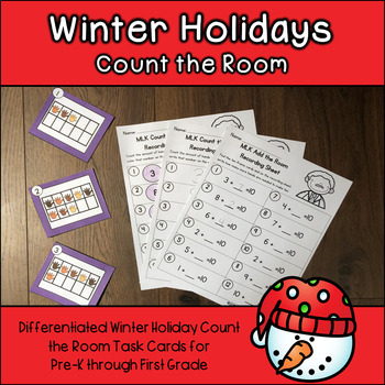 Winter Holidays Count and Add the Room 0-10