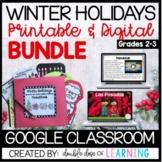 Winter Holidays DIGITAL & PRINTABLE Bundle: Christmas, Kwa