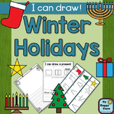 Christmas, Hanukkah, Kwanzaa Drawing and Writing Center
