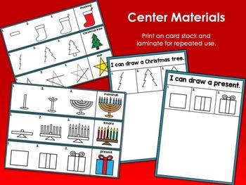 Christmas, Hanukkah, Kwanzaa Drawing and Writing Center