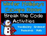Winter Holidays Escape Room