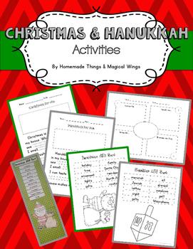 Christmas & Hanukkah Activities