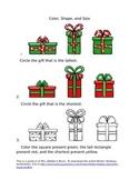 Winter Holidays Free Worksheet