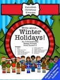 Winter Holidays Informational Essay Writing Prompt Common Core TNReady Aligned