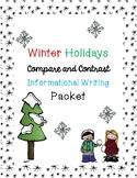 Winter Holidays Informational Writing
