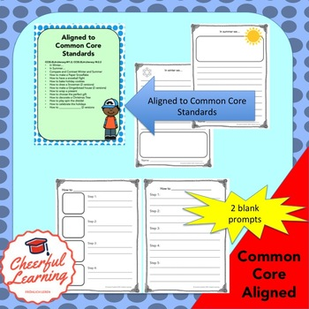 Winter Holidays- Informative Writing: Common Core Aligned