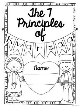 The 7 Principles of Kwanzaa: A Dictionary Skills Mini-Book