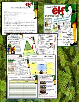 WINTER HOLIDAYS ACTIVITIES FOR MIDDLE SCHOOL AND HIGH SCHOOL BUNDLE