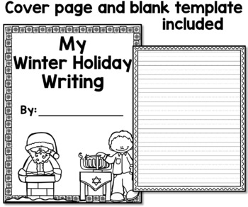 Winter Holidays Narrative Writing Prompts