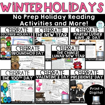Winter Holidays Non Fiction Bundle