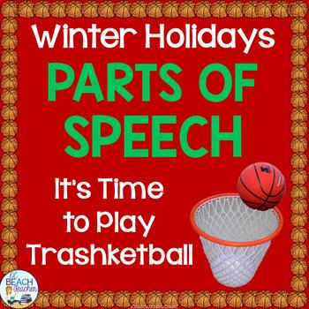 Winter Holidays Grammar Game